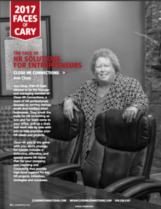 Cary Living Magazine 2017 Faces of Cary